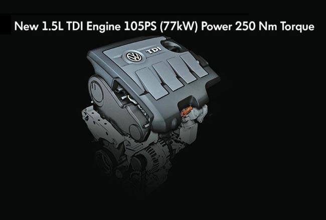 Новый 1,5-литровый дизель Volkswagen