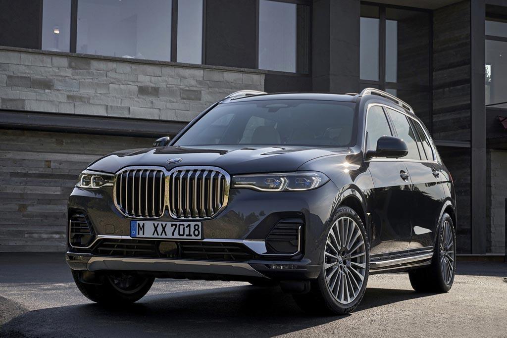 Новый BMW X7 2018