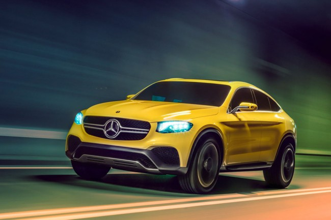 Mercedes GLC Coupe фото