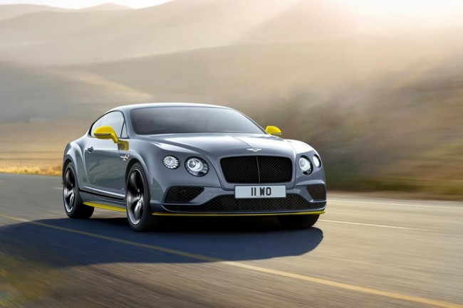 Bentley gt speed 2017