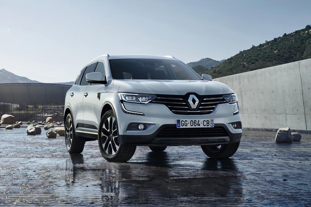 Новый Renault Koleos 2 поколения