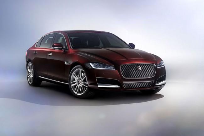 Удлиненный Jaguar XF L для Китая