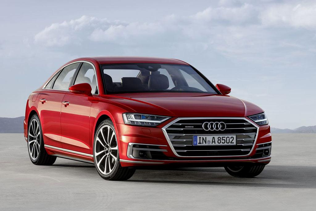 Audi A8 в новом кузове D5