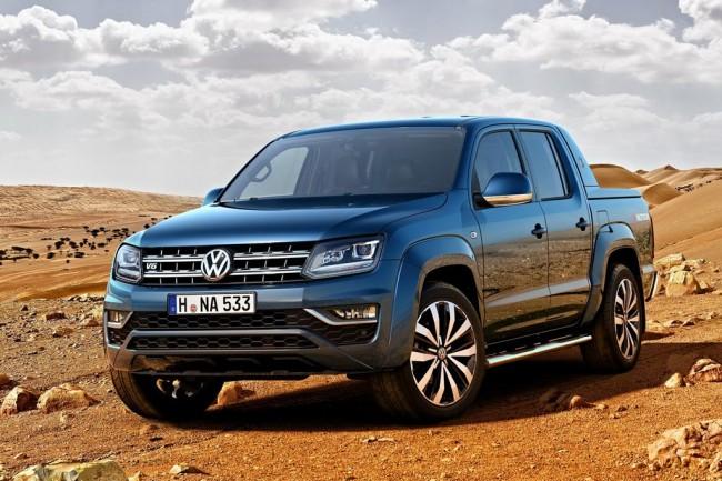 Обновленный Volkswagen Amarok 2017