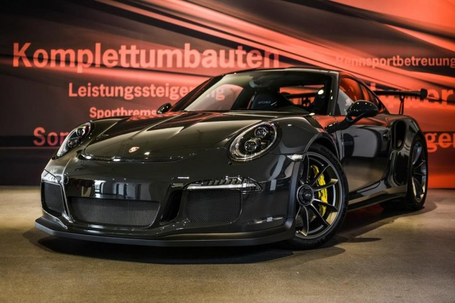 Porsche 911 GT3 RS от Edo Competition
