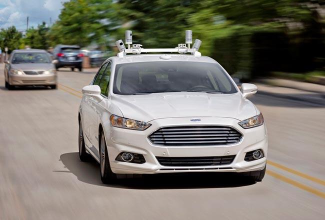 Форд к 2021 начнет производство беспилотных авто