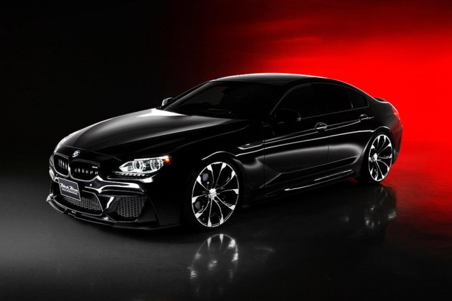 BMW 6 Gran Coupe Black Bison от Wald