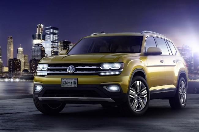 7-местный кроссовер Volkswagen Atlas