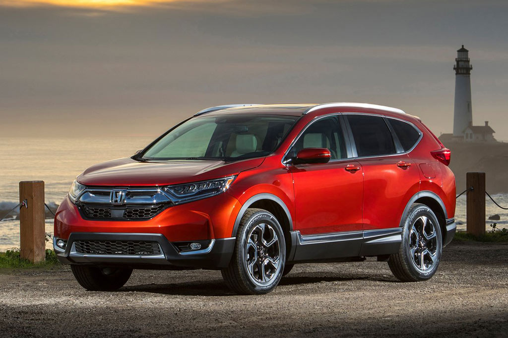 Honda CR-V 2017 в новом кузове