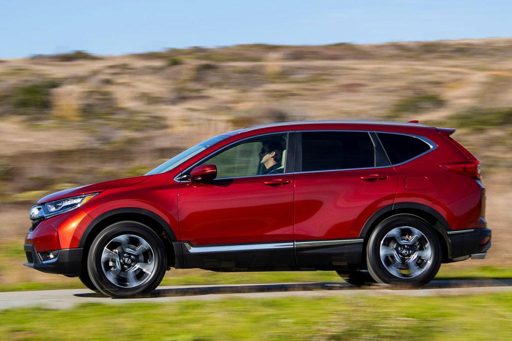 Новая Honda CR-V 2017 года