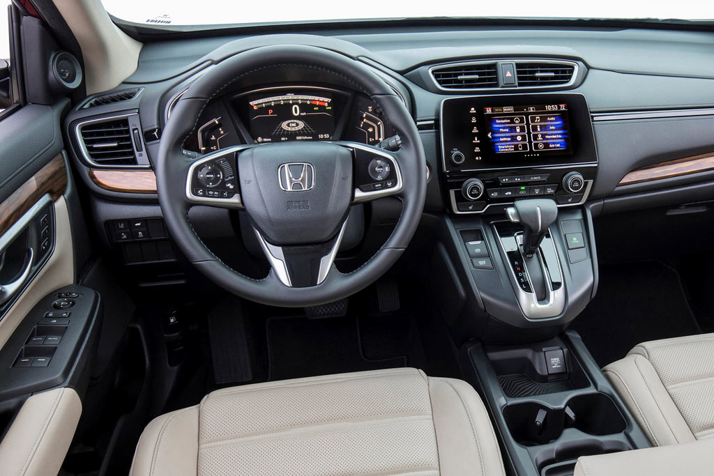 Салон новой Хонда СРВ 5