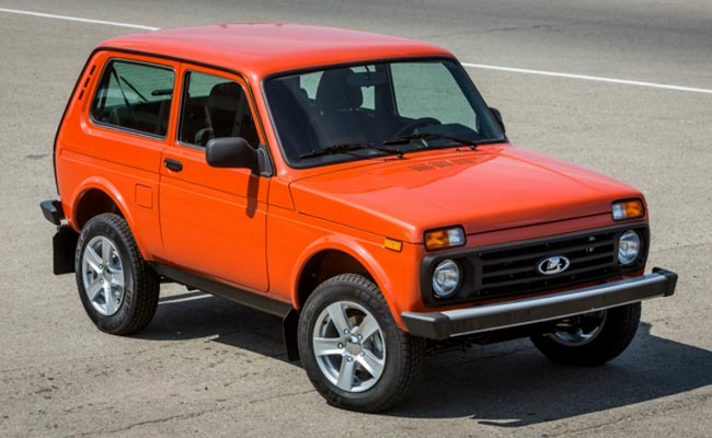 Lada 4x4 Orange Edition