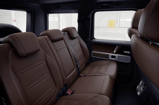 Задний диван нового Гелика в кузове W464