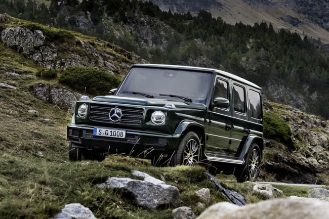 Mercedes-Benz G500 2018 фото