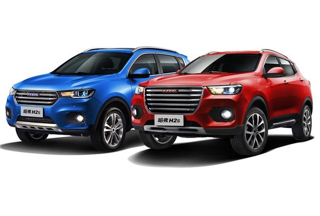 Haval H2S Red и Blue Label
