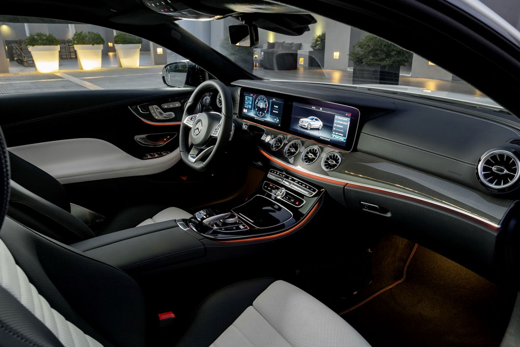 Mercedes E-Class Coupe (2017-2018) - фото, цена, характеристики Мерседес Е-класса купе в новом кузове С238