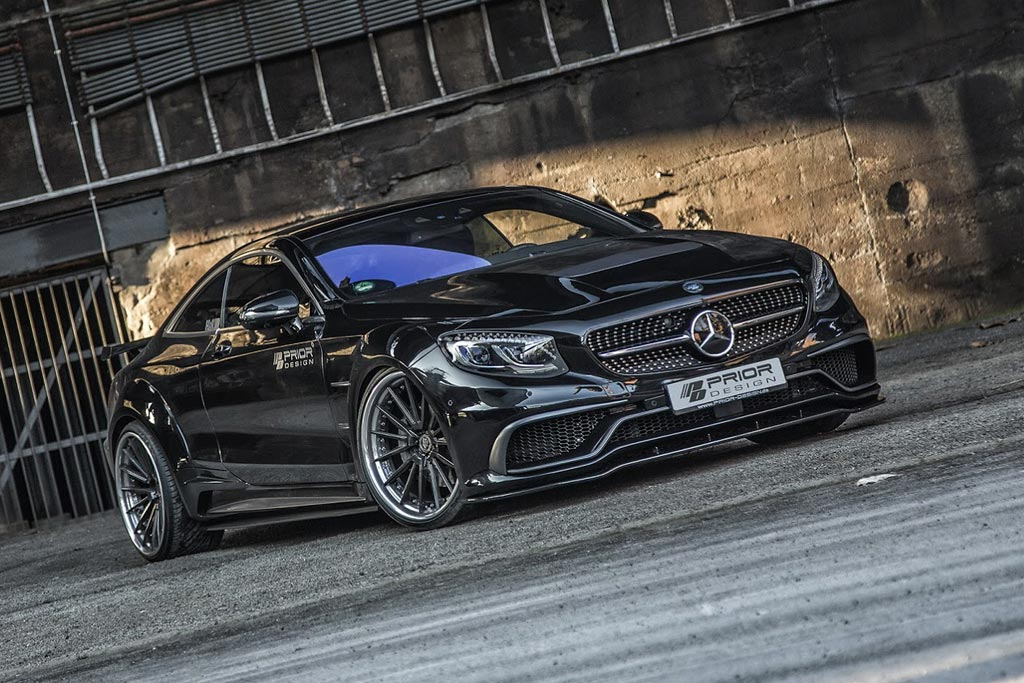 Mercedes S-Class Coupe в обвесе PD75SC