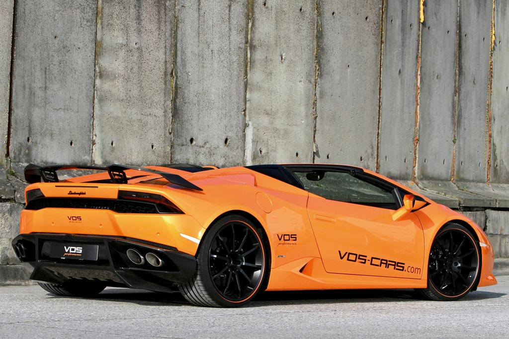 Lamborghini Huracan Spyder от Vision of Speed