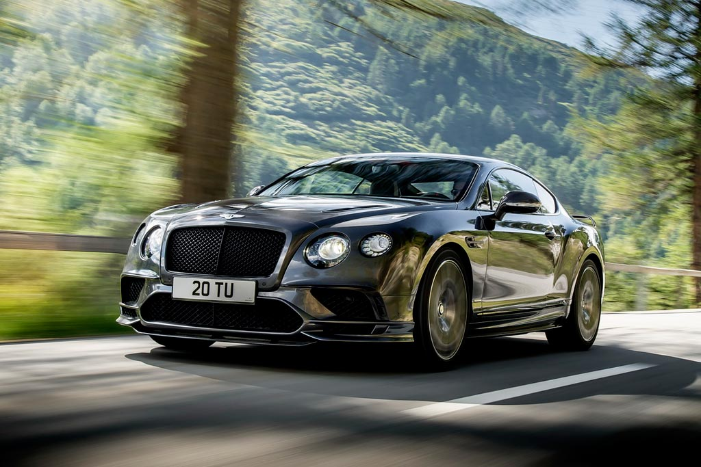 Bentley Continental Supersports 2 поколения
