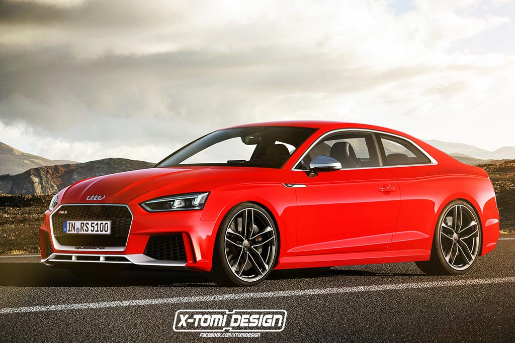 Рендер Audi RS5 Coupe II