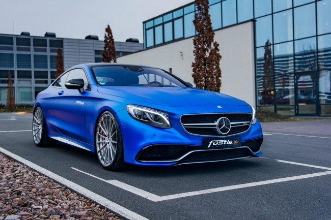 Фото тюнинг Mercedes-AMG S63 Coupe от Fostla