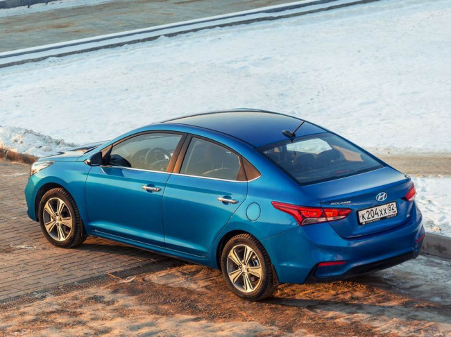 Новый кузов Hyundai Solaris 2018