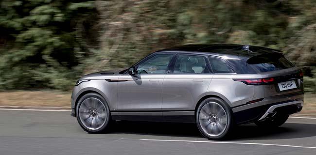 Land Rover представил новый кроссовер Range Rover Velar