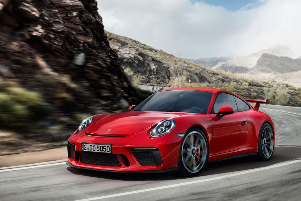 Porsche 911 GT3 (2017-2018) - фото, цена, характеристики