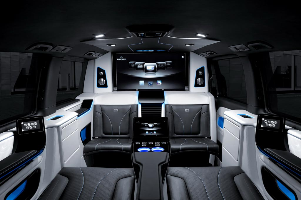 Интерьер Brabus Business Lounge