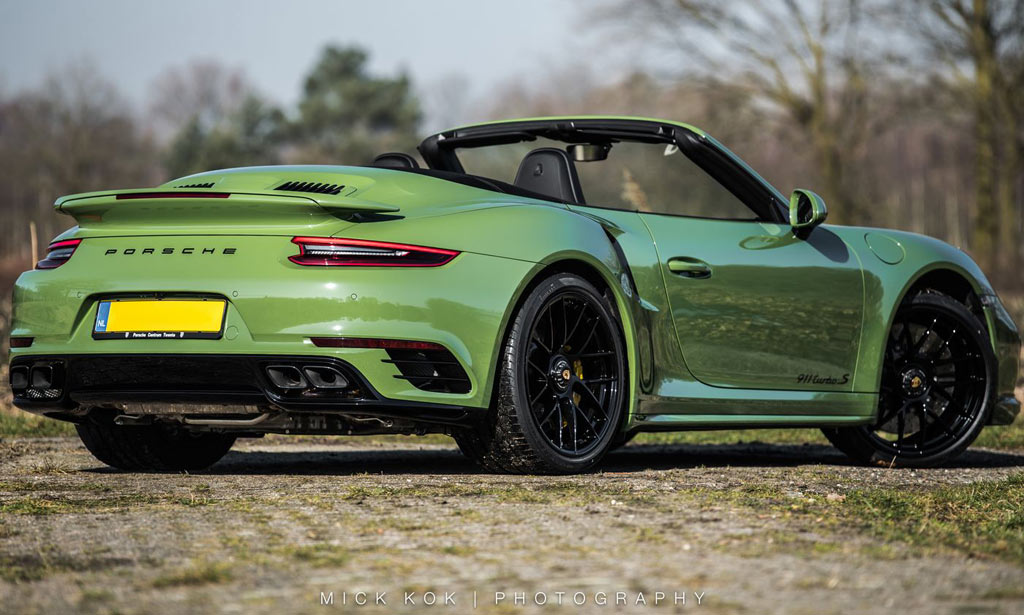 Porsche 911 Turbo S Cabriolet от Edo Competition