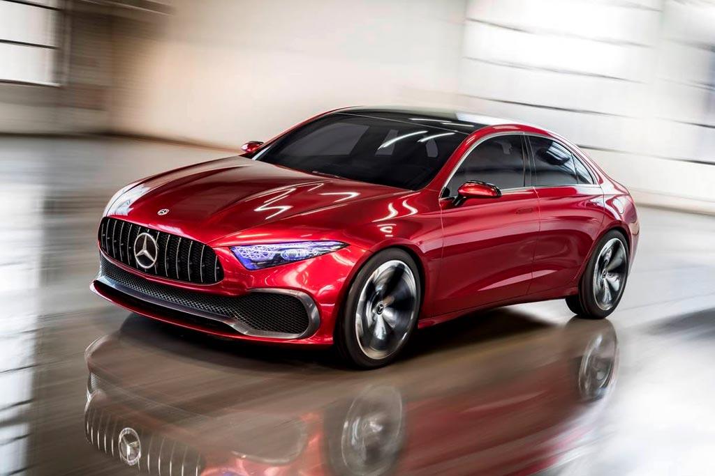 Mercedes-Benz Concept A Sedan фото