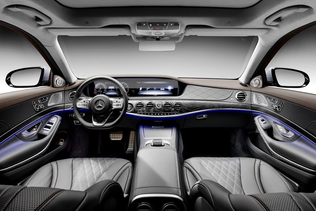 Мерседес S-класса 2017-2018 - фото, цена, характеристики новой модели S-Class V222