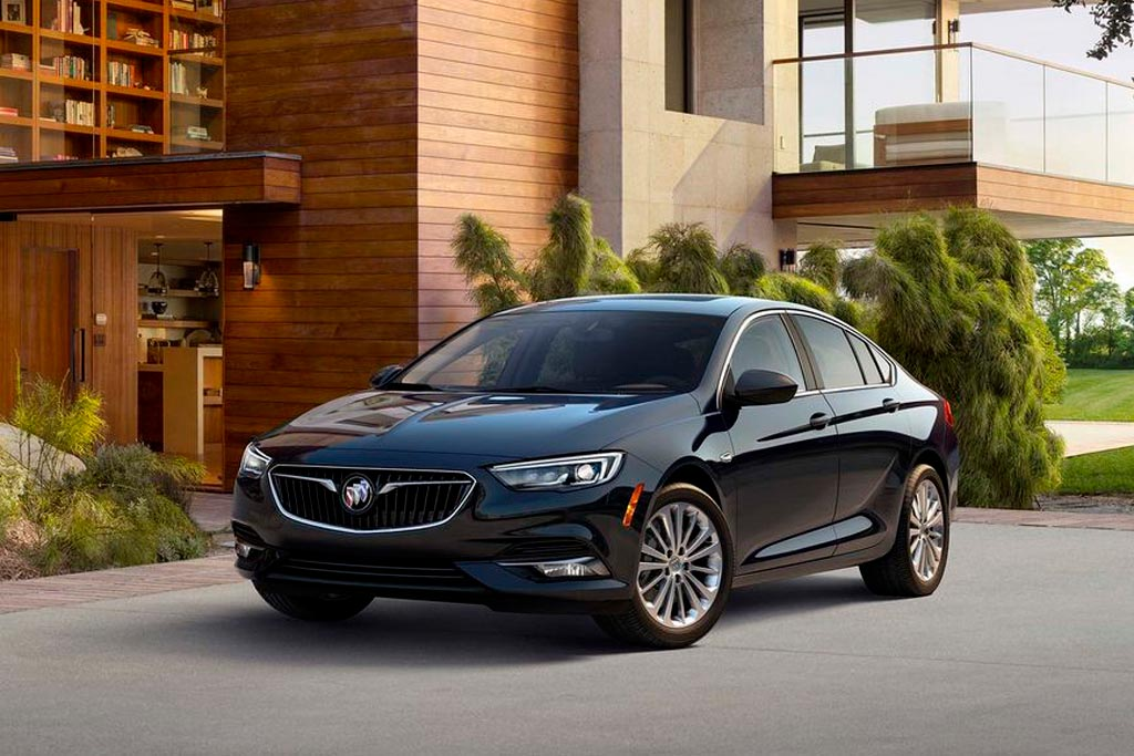 Новый Buick Regal 2018 для США