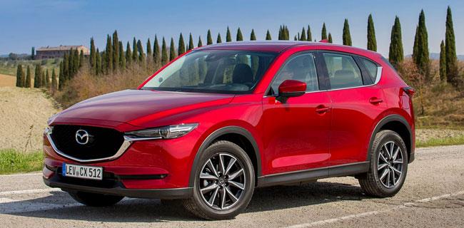 В Лос-Анджелесе прошла премьера новой Mazda CX-5 2017