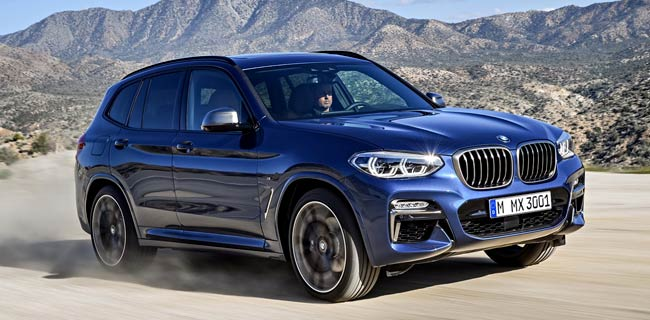 Представлен BMW X3 2018 в новом кузове G01