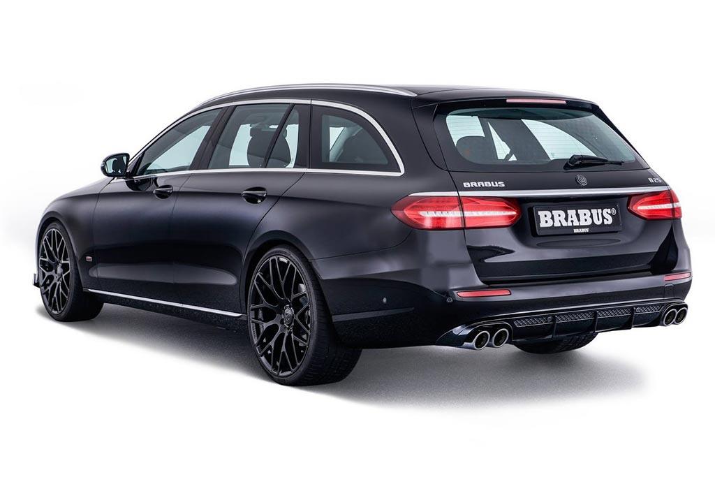 Brabus прокачал универсал Мерседес Бенс E-Class
