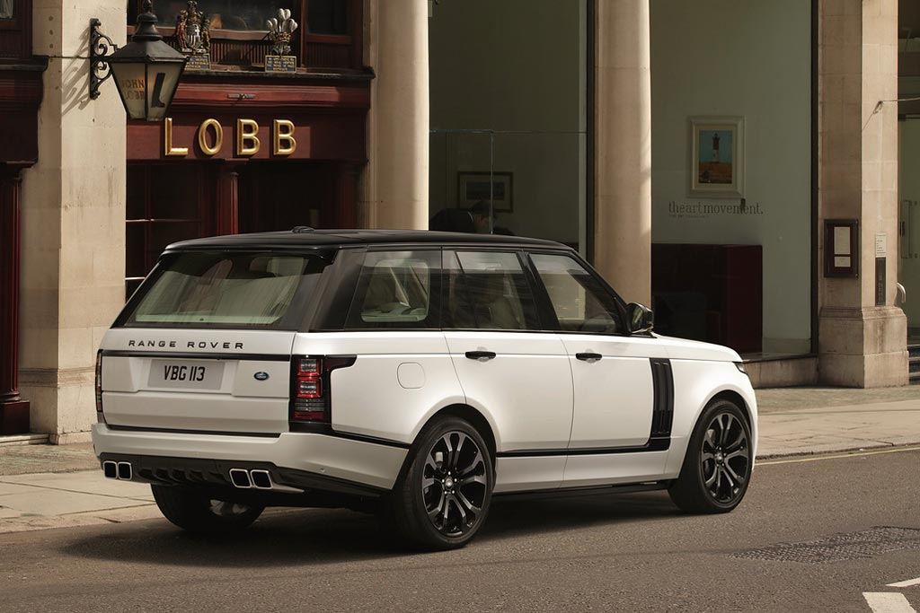 Range Rover Vogue SVO Design