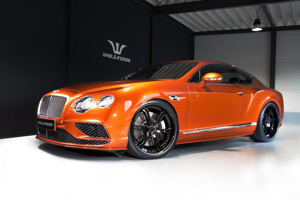 Bentley Continental GT Speed от Wheelsandmore