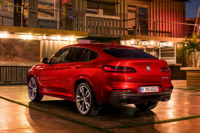 BMW X4 2018-2019 - фото, цена, характеристики новой модели БМВ Х4 (G02)