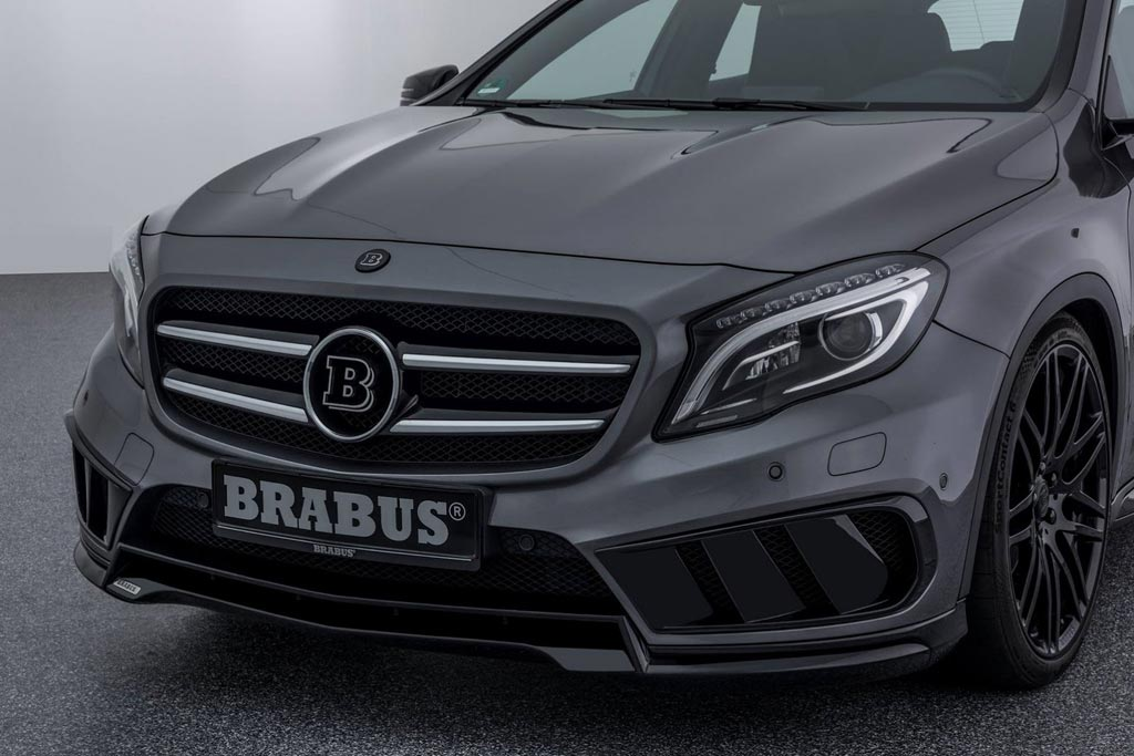 mercedes gla 220 cdi brabus. Black Bedroom Furniture Sets. Home Design Ideas