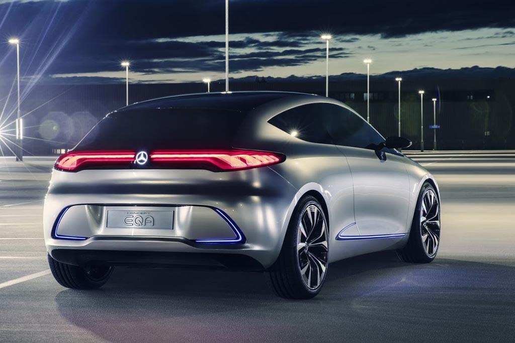 Mercedes-Benz представила новый электрический хэтчбек EQA