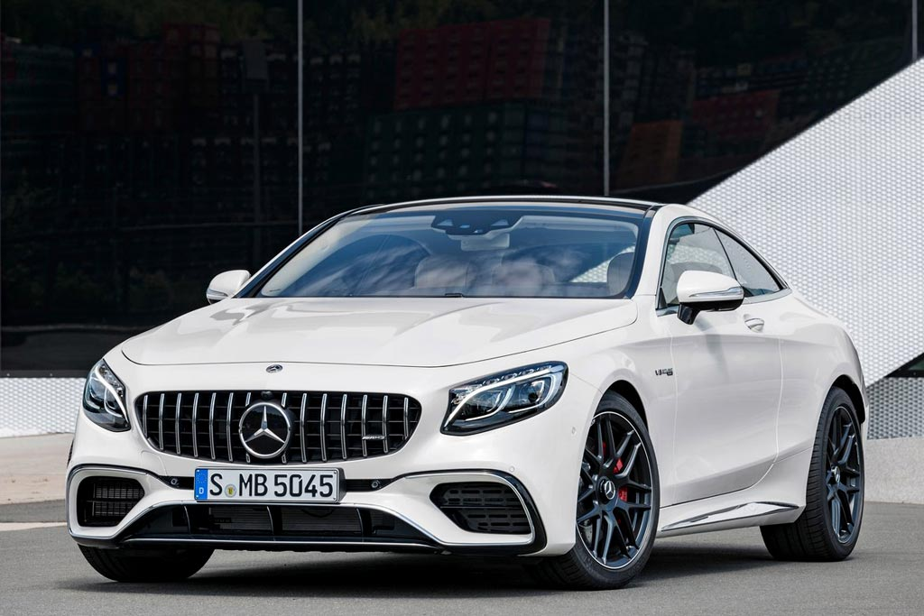 Mercedes-AMG S 63 Coupe 2018 года