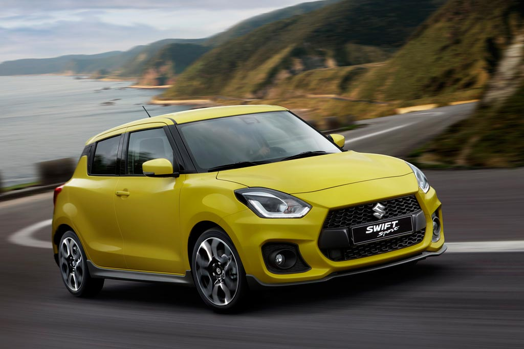 Новый Suzuki Swift Sport 2018