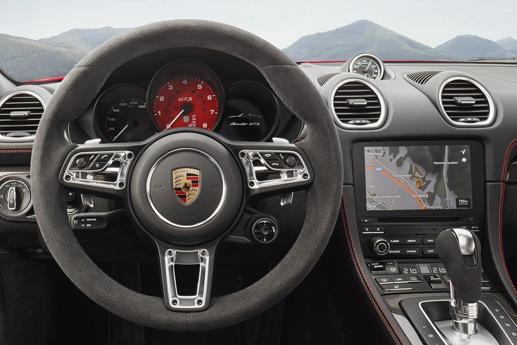 Porsche 718 Cayman GTS и 718 Boxster GTS - фото, цена, характеристики