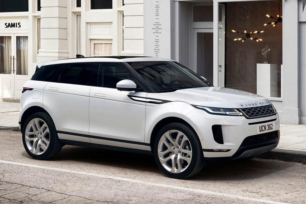 Мул нового Range Rover Evoque 2
