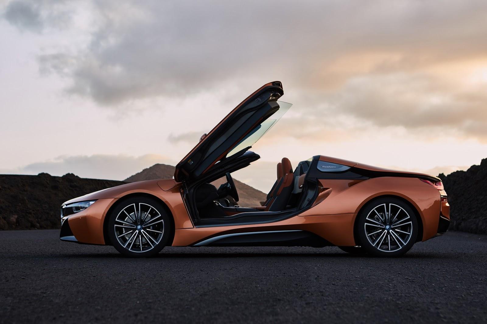 Смотреть BMW i8 Spyder 2019 - фото, характеристика, цена видео