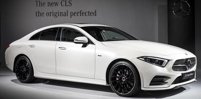 Представлен Mercedes-Benz CLS 2018 третьего поколения