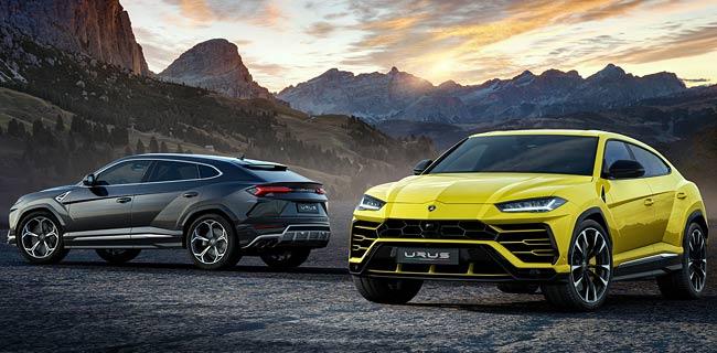Представлен серийный кроссовер Lamborghini Urus