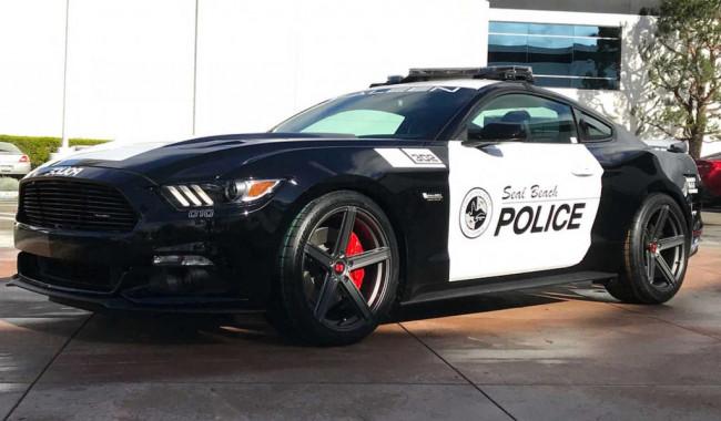 Saleen S302 Police Mustang