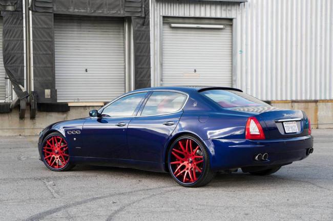 Maserati Quattroporte на дисках Forgiato Maglia